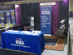 RMA booth at expo
