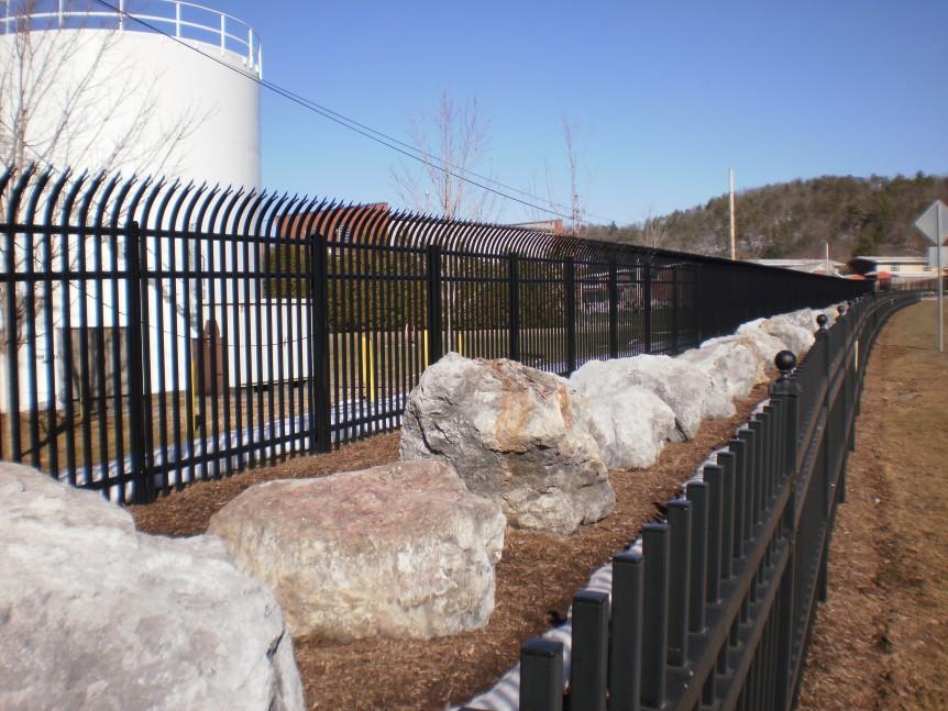 three part fence