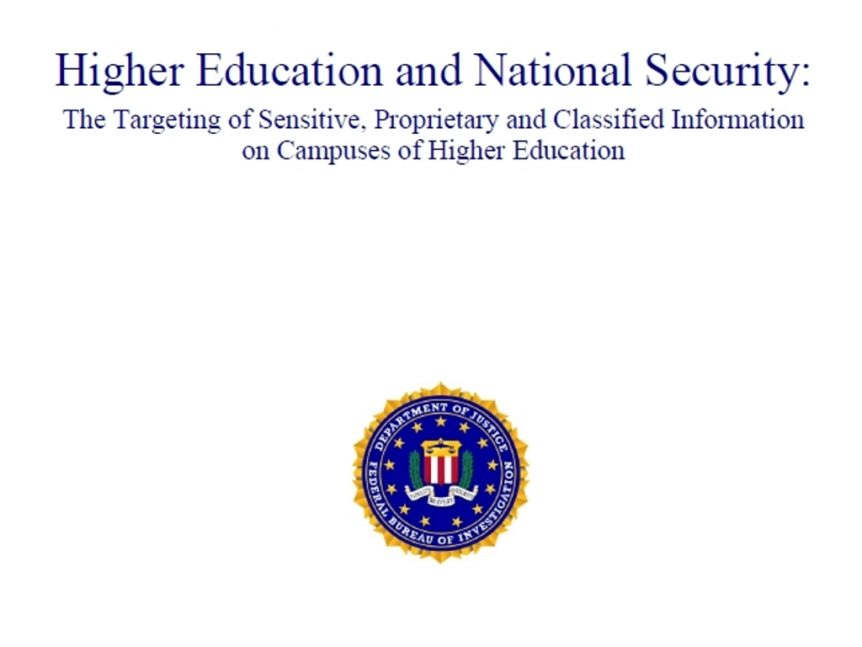 Higher Education and National Security