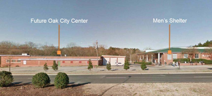 Oak City Center site