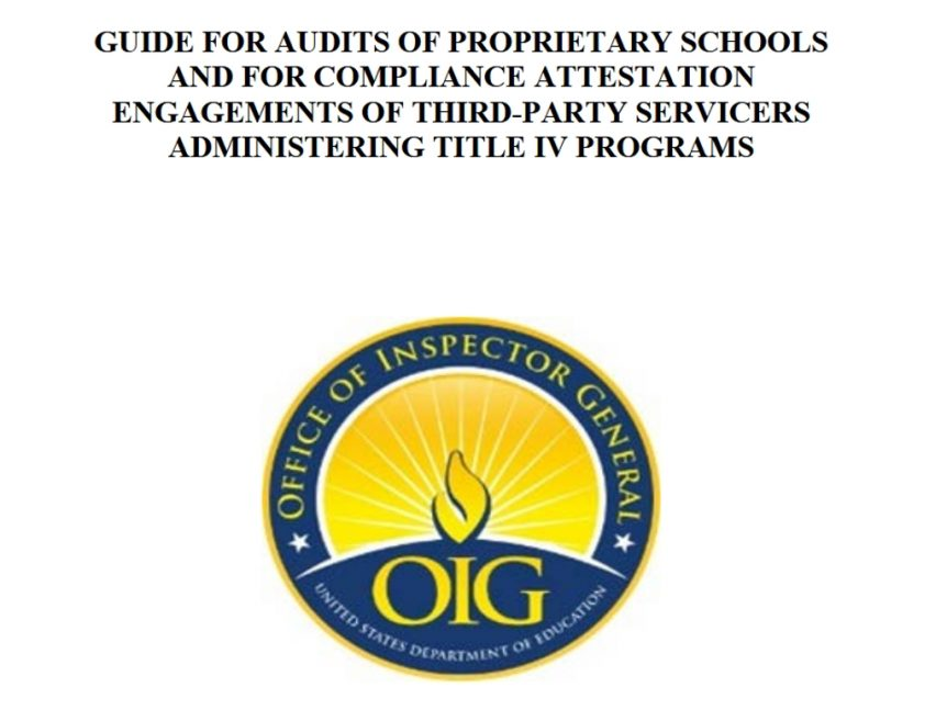 OIG guide for audits