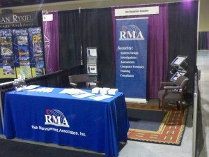 RMA booth at expo
