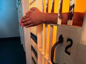 inmate in jail