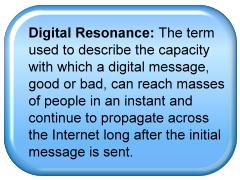 definition of digital resonance