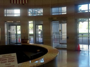 Department of Revenue lobby