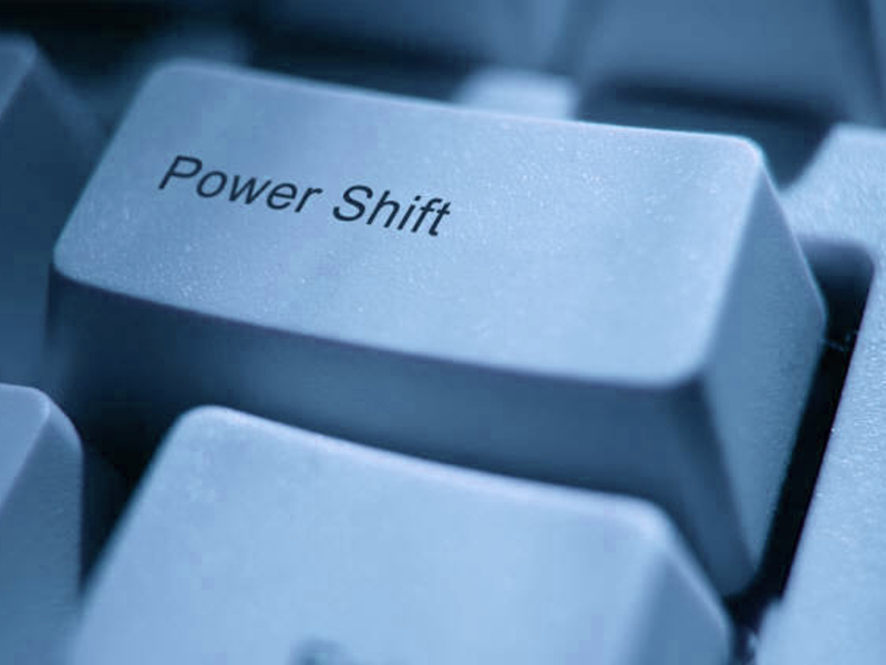 power shift button
