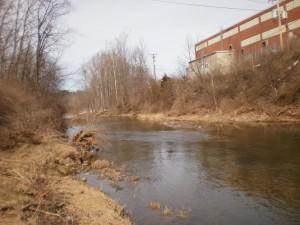natural barrier - river