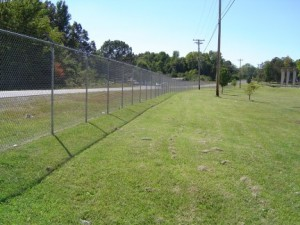 structural barrier - fence