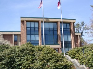 ASU administration building