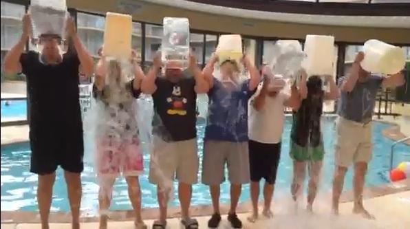 IAHSS ALS ice bucket challenge