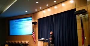 Speaker at ASIS meeting