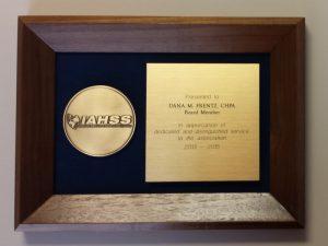 IAHSS Award for Dana Frentz