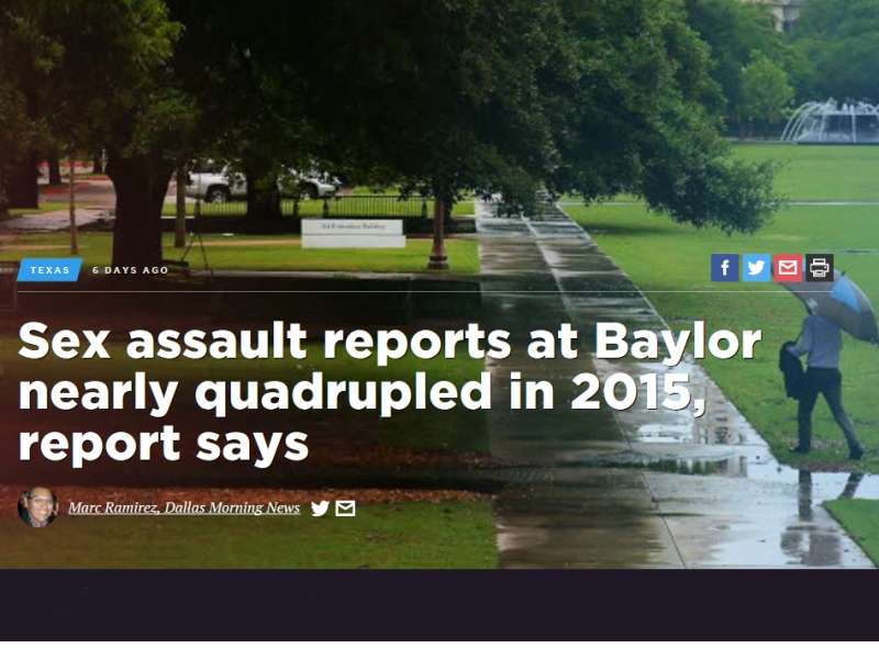 Baylor University headline