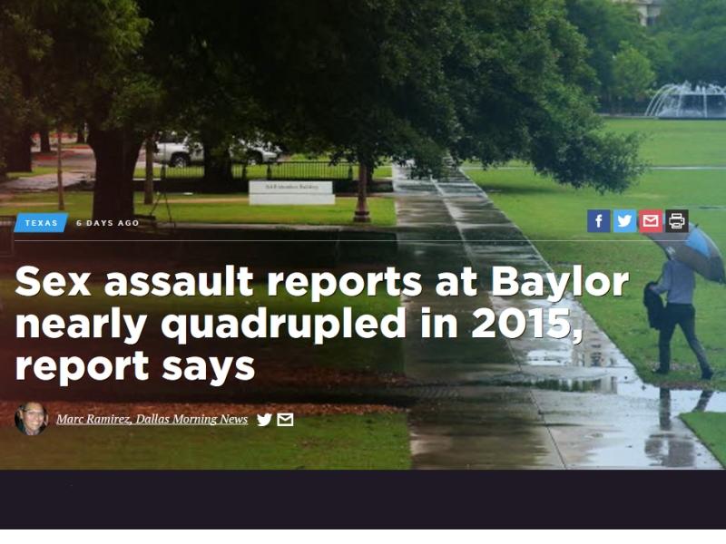 Baylor University headline