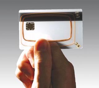 smart card cutaway