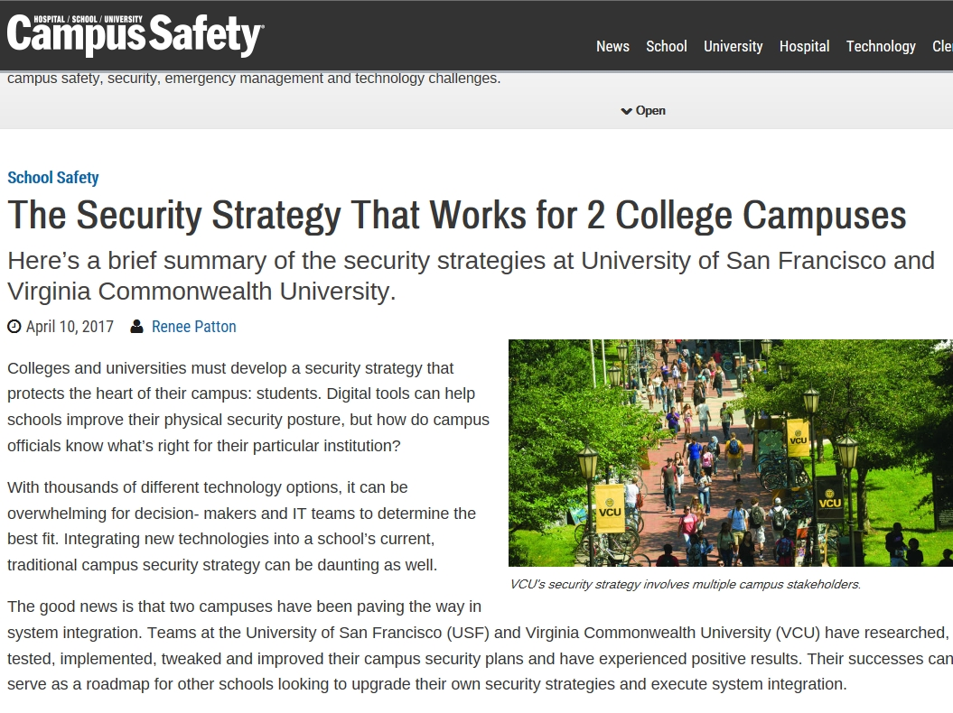 campus safety article
