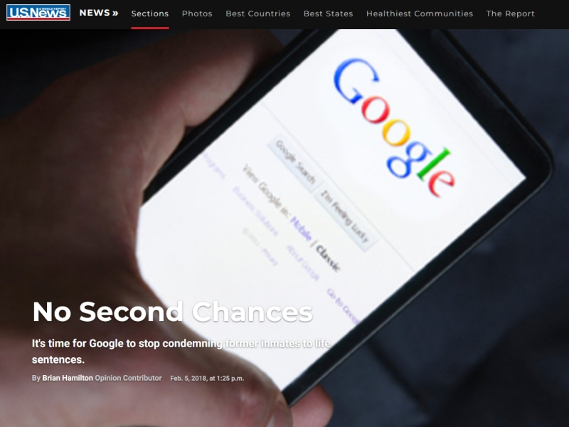 No Second Chances article
