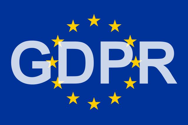 GDPR and EU Flag