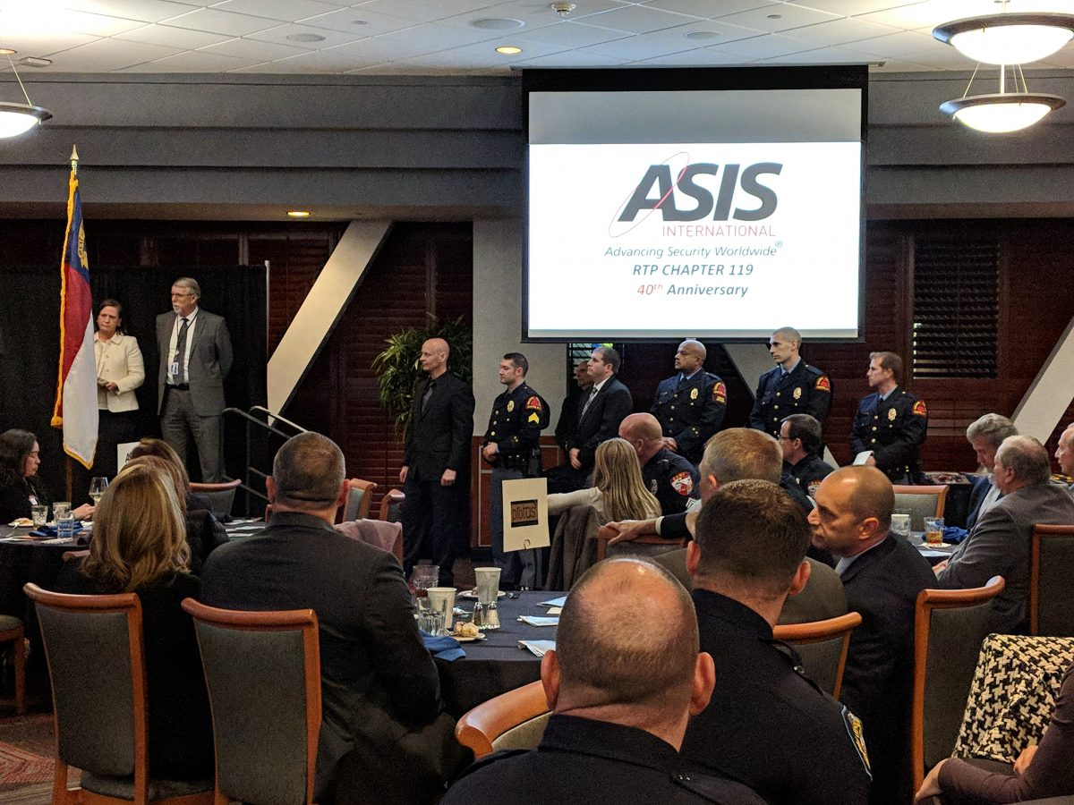 ASIS Law Enforcement Appreciation Banquet 2018