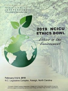 NCICU Ethics Bowl 2019