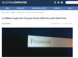 dark web login article